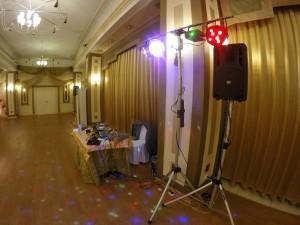 Звук и свет на свадьбу