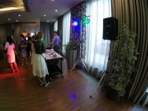 Звуковое и световое оборудование на юбилей в СПб